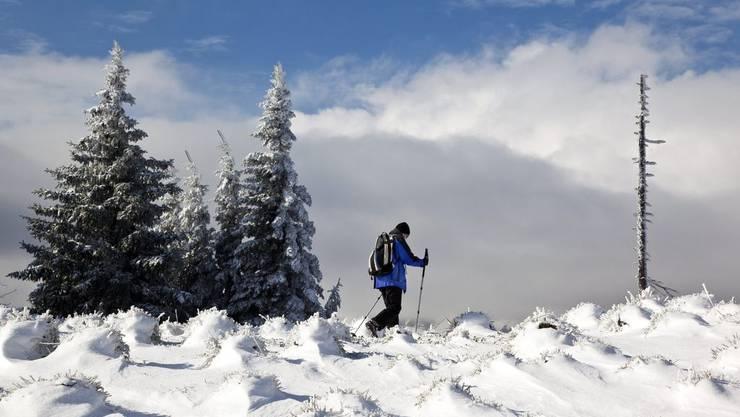 Skitour mit tragischem Ausgang (Symbolbild)