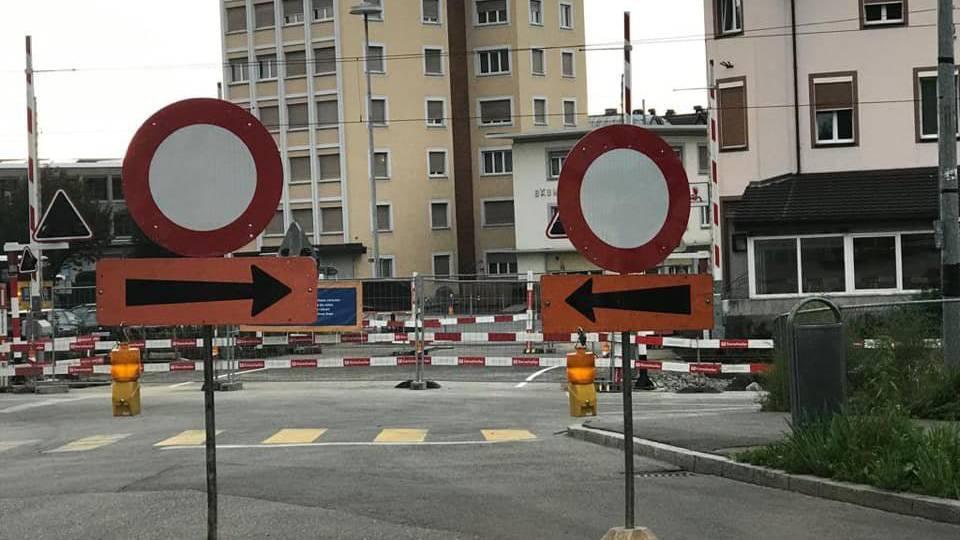 Gleich zweimal allgmeines Fahrverbot? Das verwirrt die Rorschacher.