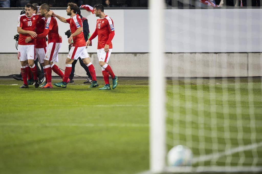 WM-Quali Schweiz vs. Färöer in Luzern (© Keystone)