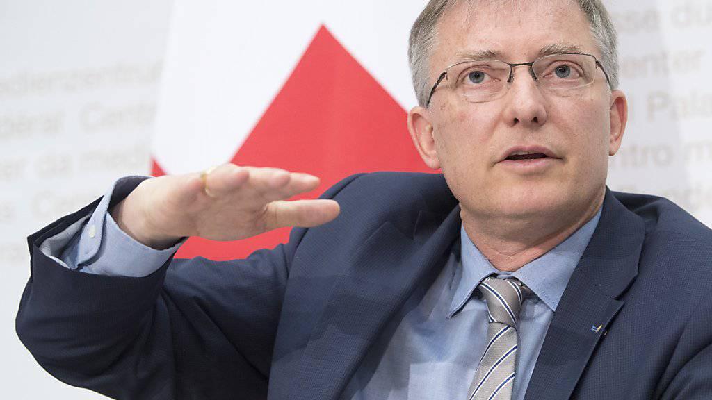 Laut Markus Seiler, Chef des Nachrichtendienstes des Bundes (NDB), droht der Schweiz von verschiedener Seite Gefahr.