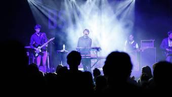 «Glaze» bei ihrem Auftritt im Volkshaus an der diesjährigen BScene.