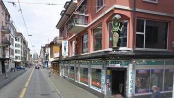 Der Lollypop-Kiosk an der Langstrasse