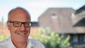 Emil Huber, Projektleiter Kreisschule und Gemeindeammann Unterkulm.