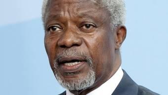 Der Syrien-Sondergesandte Kofi Annan (Archiv)
