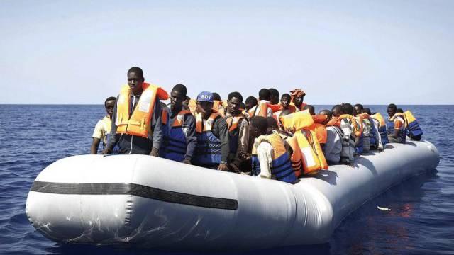 Diese Flüchtlinge konnten gerettet werden (Archivbild)