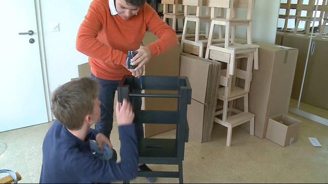 15-Jährige starten Möbel-Unternehmen