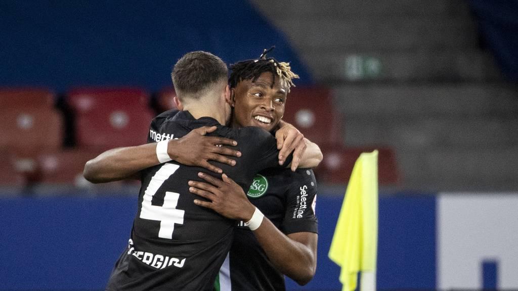 Der FC St.Gallen holt im Spiel gegen den FCZ einen Punkt