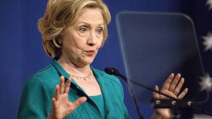 Vertraulich: Hillary Clinton wird E-Mail-Affäre nicht los (Archivbild)