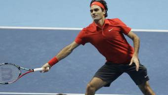 Roger Federer liess David Ferrer keine Chance