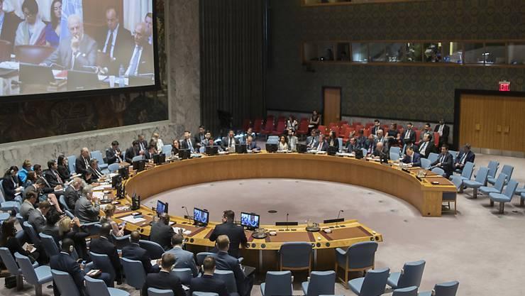 Der UNO-Sicherheitsrat stimmte einer Resolution zu, wonach die Blauhelmmission in Sudan deutlich verkleinert werden soll. (Archivbild)