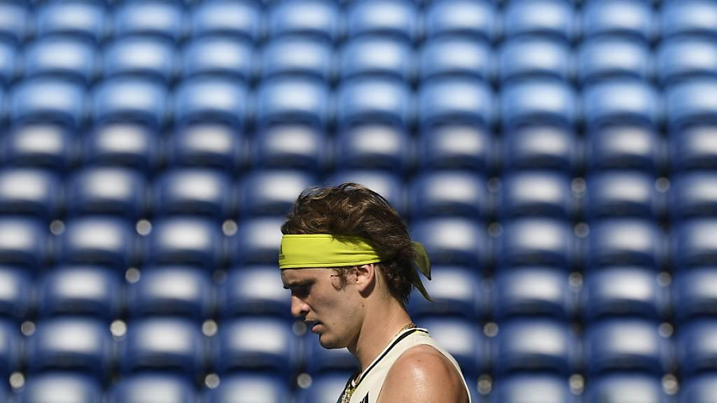 Am Australian Open in Melbourne wird von Samstag bis Mittwoch ohne Zuschauer gespielt