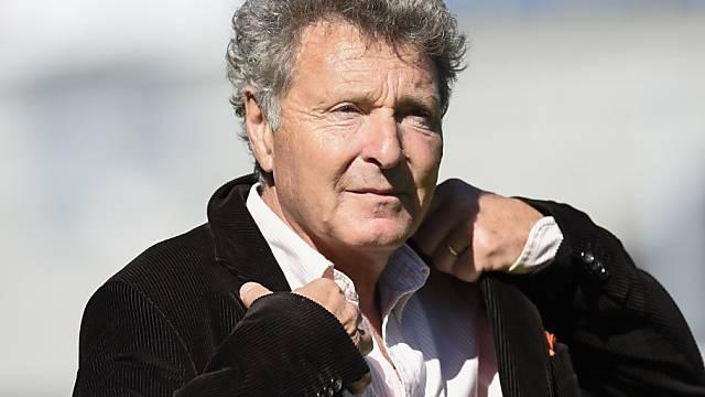 Der Deutsche Jochen Dries war 1998 bereits acht Monate Sion-Trainer