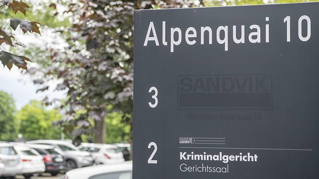Das Luzerner Kriminalgericht verurteilte den Serben zu 5 Jahren und 7 Monaten Gefängnis.