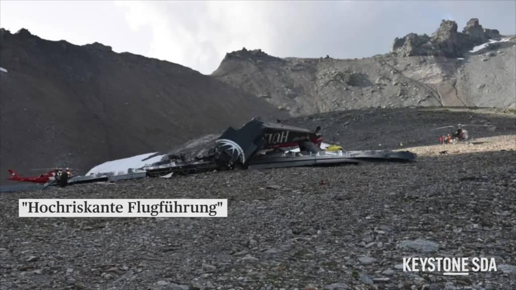Ursache des Ju-52-Absturzes: «Hochriskante Flugführung» schuld