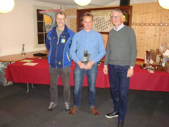 von links nach rechts: Rolf Steinmann, Markus Meier, Michel Christen