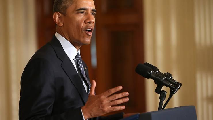 Obama preist seinen Clean Power Plan als grössten Schritt der USA für den Klimaschutz an.