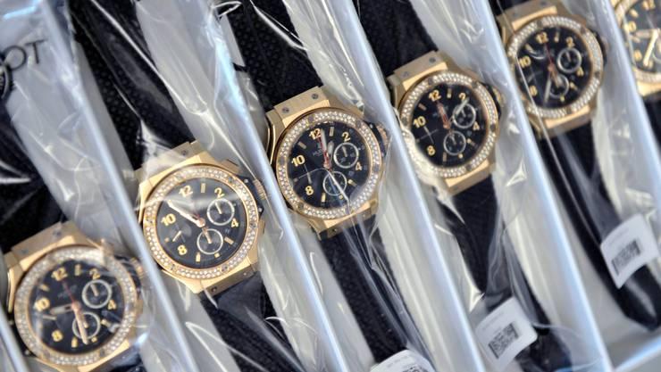 Die Uhrenbranche ist besonders getroffen von der Coronakrise. (Symbolbild)
