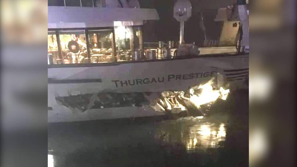 20 Verletzte bei Schiffskollision auf dem Rhein