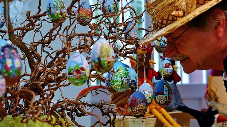 Viele, bunte Eier.