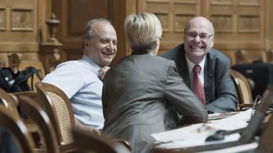 Filippo Leutenegger, links: KMU-freundlichster Nationalrat (Archiv)