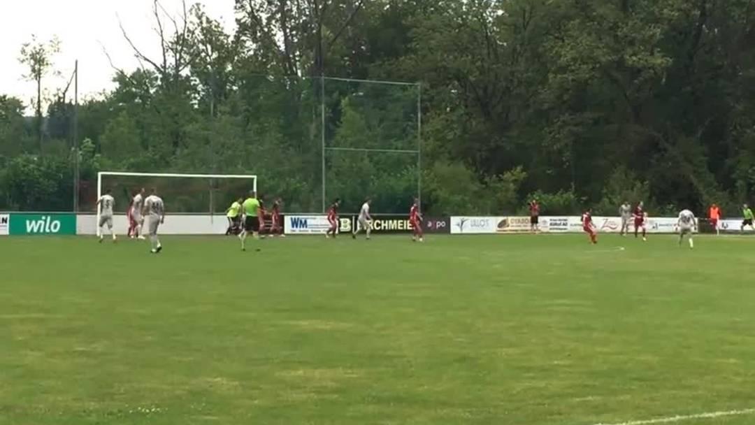 FC Klingnau - FC Aarau 2:7 – einige Highlights