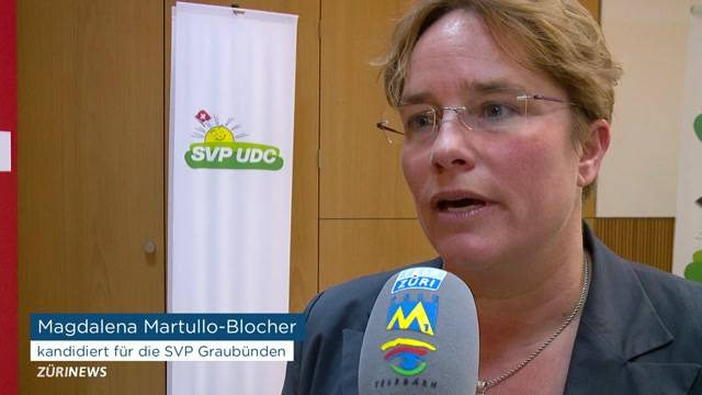 Martullo-Blocher kandidiert als Nationalrätin