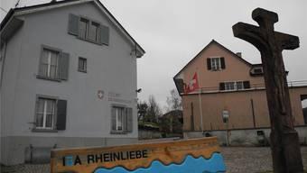 Eine Arbeitgruppe will eine Lösung für die Zukunft des alten Zollhauses bei der Steiner Rheinbrücke erarbeiten. mf/Archiv