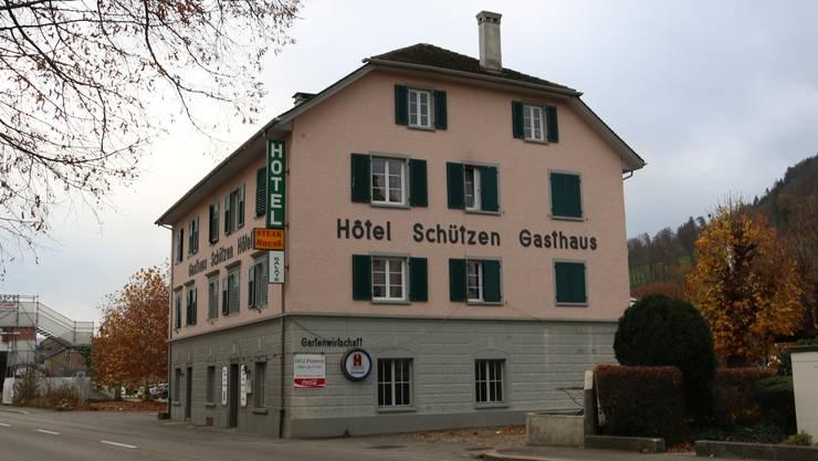Anstelle des Gasthauses Schützen könnten dereinst ein Motel und ein Parkhaus entstehen.