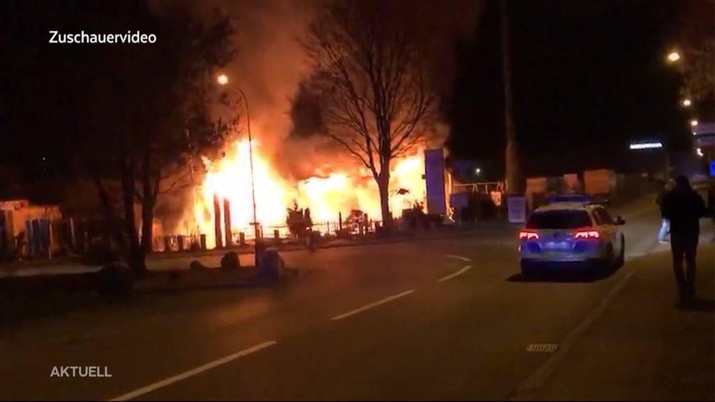 Wirte-Ehepaar aus Villmergen steht wegen Brand vor Gericht