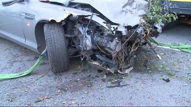 Aston-Martin-Fahrer nach heftiger Landung tot
