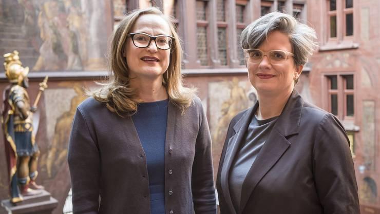 Die neuen Co-Leiterinnen der Abteilung Kultur: Sonja Kuhn(l.) und Katrin Grögel(r.)