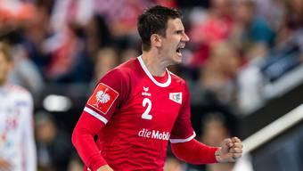 Andy Schmid bekommt es an der WM in Ägypten mit den Teams Österreich, Norwegen und Frankreich zu tun.