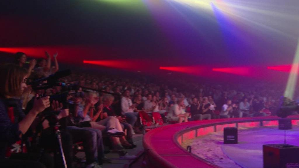 Es geht los: Zirkus Knie feiert Premiere in Rapperswil-Jona