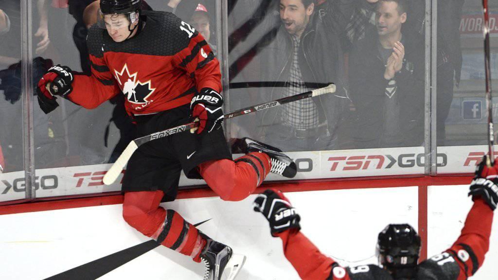 Julien Gauthier führte Gastgeber Kanada mit zwei Treffern beim 5:2 gegen Schweden in den Final der U20-WM