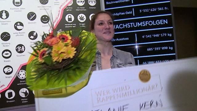 Zürcher Lehrerin wird Rappen-Millionärin