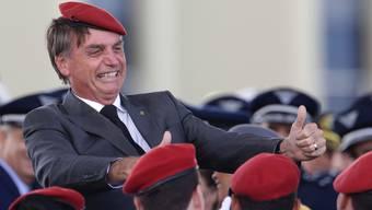 Der neue umstrittene Präsident: Jair Bolsonaro.