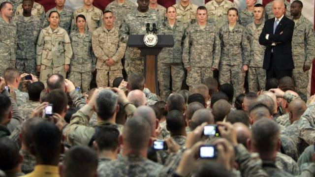 Im Fokus der IS-Terrormiliz: US-Soldaten (Archivbild)