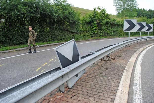 Bei dem Unfall wurde niemand verletzt