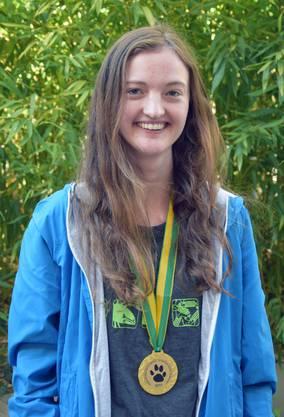 Goldmedaille: Caroline Hasler aus Aarau (Neue Kantonsschule Aarau)
