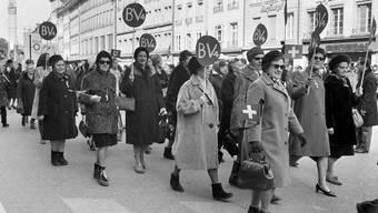 Marsch auf Bern 1969
