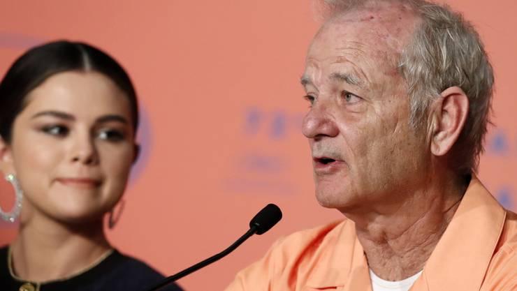 US-Schauspieler Bill Murray gesteht Vorurteile ein: Seine Kollegin Selena Gomez (links) ist ihm mehr ans Herz gewachsen als er je erwartet hätte.
