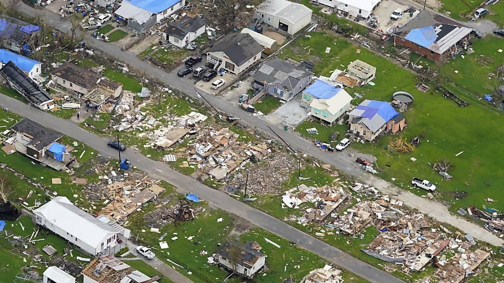 Zahl der Hurrikan-Opfer in Louisiana steigt auf 26