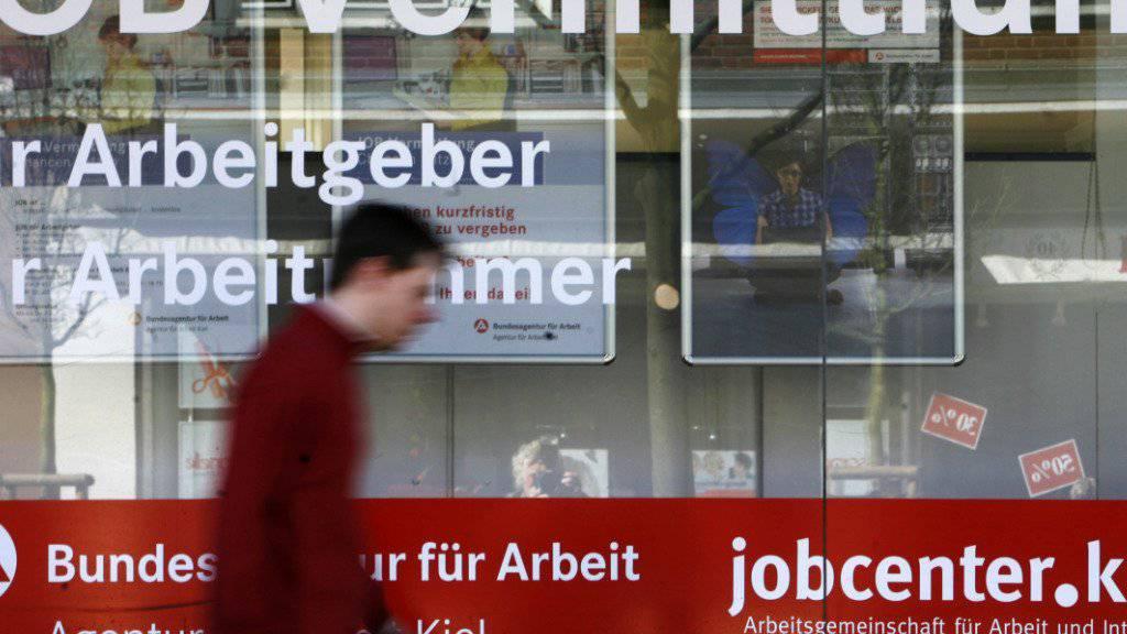 In Deutschland ist die Arbeitslosenquote mit 4,1 Prozent am tiefsten, in Griechenland mit 23,1 Prozent am höchsten.