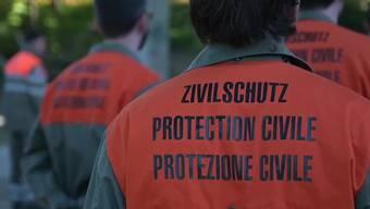 Zahlreiche Zivilschutz-Angehörige wurden aufgeboten. (Symbolbild)