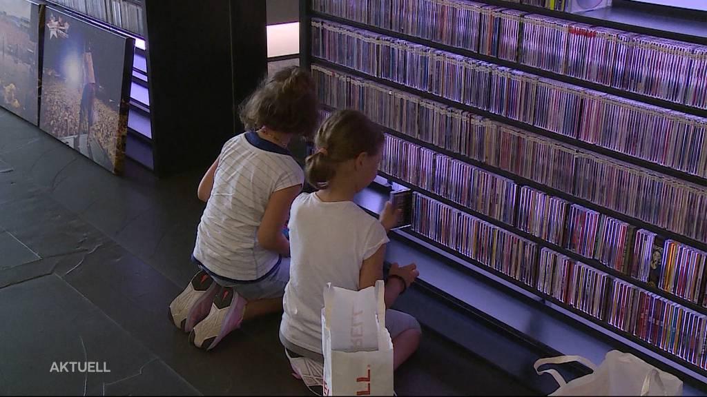 CD-Spender: Hunderte Hörer helfen, die legendäre Argovia-Wand in der Telli zu füllen