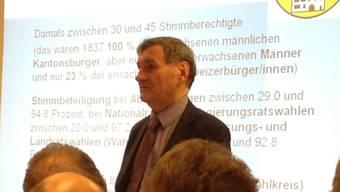 Historiker und Medienprofessor Roger Blum