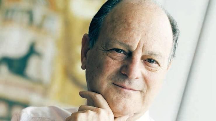 Addax-Chef Jean-Claude Gandur.