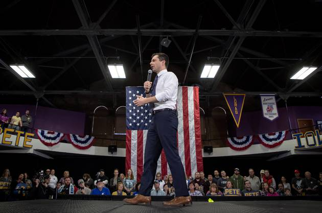 Pete Buttigieg in Iowa.