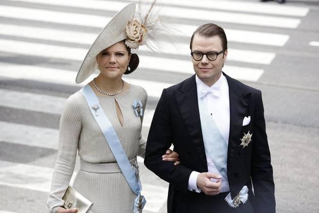 Prinzessin Victoria und Ehemann Daniel von Schweden