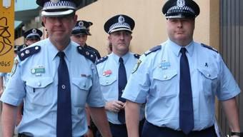 Australische Polizisten (Archiv)